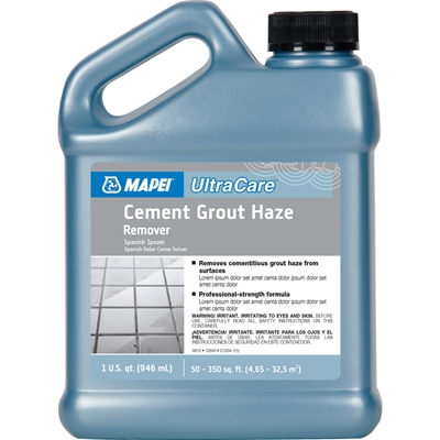 Cement Grout Haze Remover